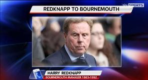 Redknapp back at Bournemouth