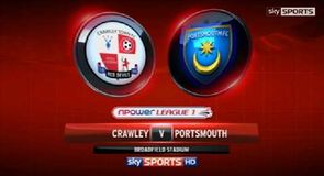 Crawley 0 - 3 Portsmouth