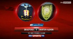 Bradford 3-2 Burton Alb