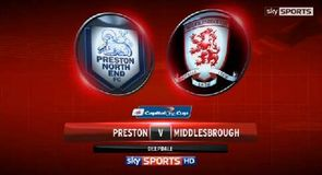 Preston 1-3 Middlesbro'