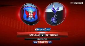 Carlisle 0-3 Tottenham