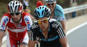 Richie Porte claimed second on the stage for Team Sky after a valiant effort