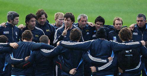 Santiago Phelan Argentina coach and squad