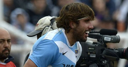 Juan Martin Fernandez Lobbe Argentina Rugby Championship 2012