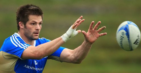 Richie McCaw All Blacks training 2012