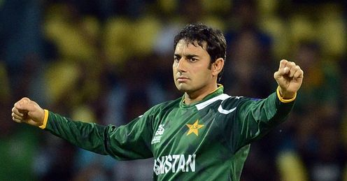 Saeed Ajmal took four wickets for Pakistan against New Zealand