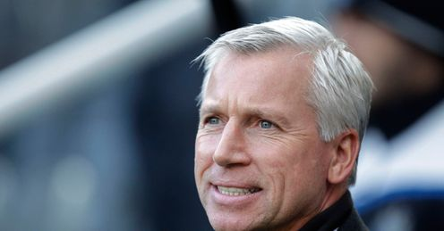 Pardew: Signed eight-year deal at Newcastle
