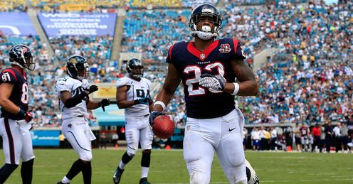 Arian Foster: Top of the class with Houston
