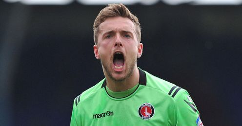 Hamer time: the Charlton goalkeeper has kept clean sheets in his previous two games