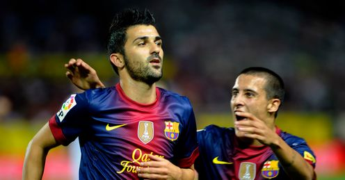 David Villa: Finally back in top form following injury