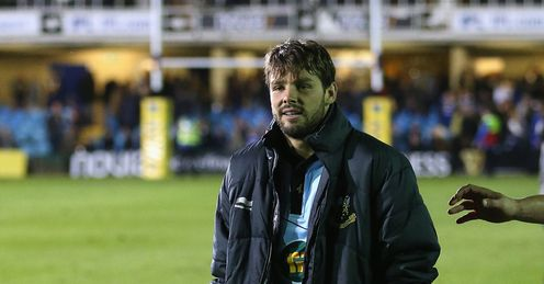 Ben Foden Crutches Bath