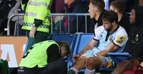 Ben Foden Injured Bath