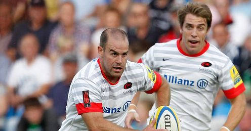 Hodgson: on fire for Sarries