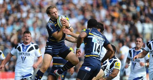 Chris Pennell Worcester v Bath Premiership