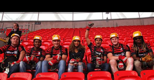 Cover Drive Saracens Wembley Zip Wire