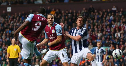 Darren Bent Aston Villa West Bromwich Albion Premier League