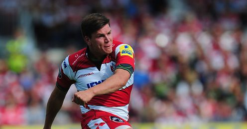 Freddie Burns Gloucester v Northampton Premiership