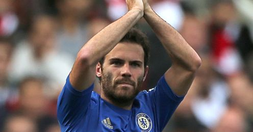 Will Mata be calling the shots for Chelsea on Sunday?