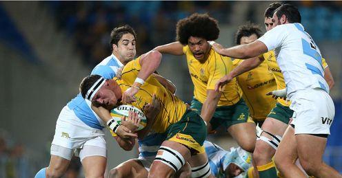 Kane Douglas Australia v Argentina