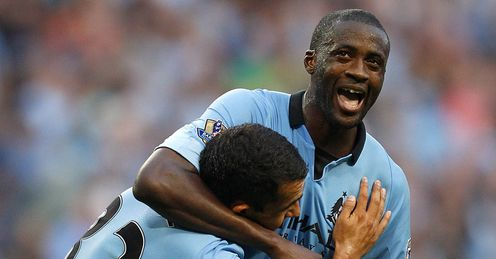 Big presence: Toure is City's go-to man in terms of strife, says Niall