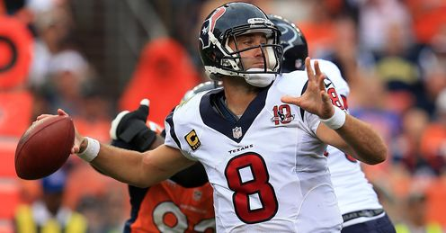Matt Schaub: propelling Houston onwards and upwards