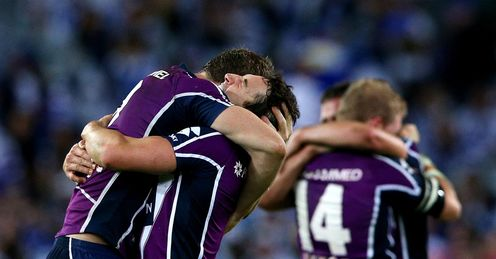 Melbourne Storm celebration NRL Grand Final