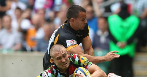 Mike Brown Wasps v Harlequins Premiership