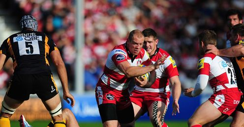 Mike Tindall Gloucester v Wasps