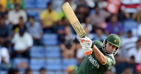 Nasir Jamshed hits out for Pakistan against New Zealand at Pallekele T20