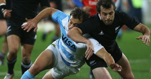 New Zealand v Argentina 2012