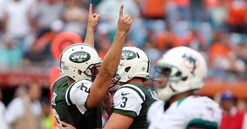 Nick Folk kicked the winning goal for the Jets