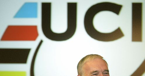 Pat McQuaid: president of the UCI