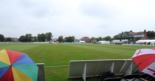 Rain at Liverpool Cricket Club 2012