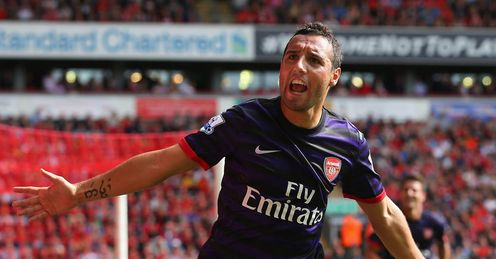 Cazorla: Has impressed for Arsenal - but can he deliver on Saturday?