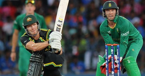 Shane Watson batting Australia v South Africa ICC World Twenty20