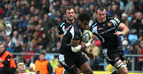 Sireli Naqelevuki Exeter Chiefs 2012