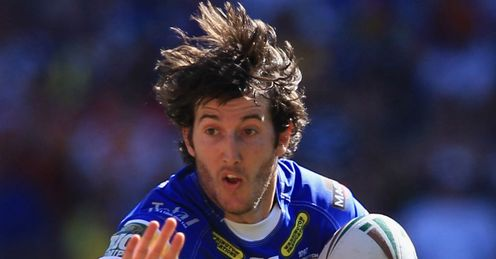 Stefan Ratchford C of Warrington Wolves