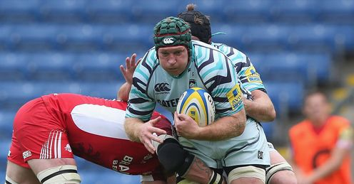 Thomas Waldrom London Welsh v Leicester Tigers