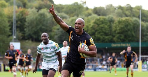 Tom Varndell Wasps London Irish try 2012