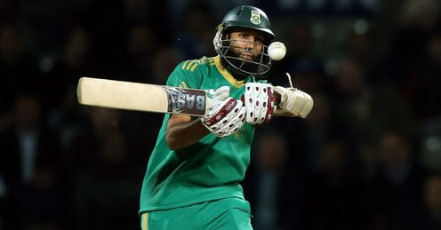 Hashim Amla South Africa batting against England in the Twenty20 series