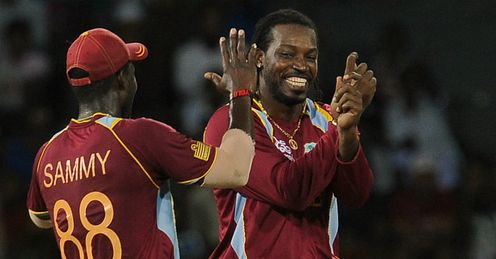 Chris Gayle West Indies v Ireland World Twenty20 Group B Colombo RPS