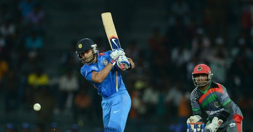 Virat Kohli India v Afghanistan World Twenty20 Group A Colombo RPS