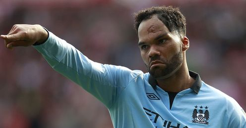Lescott: the City centre-back has not been a regular so far this term