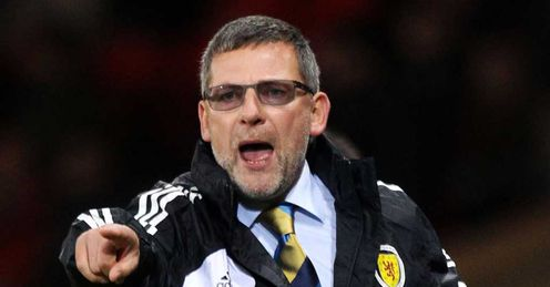 Under pressure: Levein must win in Wales, says Walker