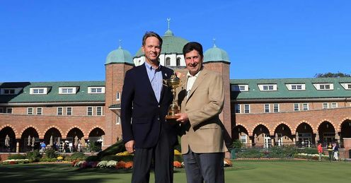 Love & Olazabal: who will be holding the trophy aloft on Sunday?