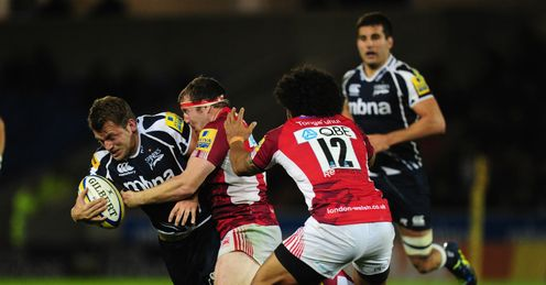 Mark Cueto Sale v London Welsh Salford City Stadium Aviva Premiership