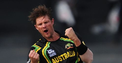 shane watson australia ireland wt20