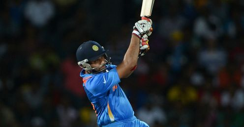 Rohit Sharma India batting against England ICC World Twenty20