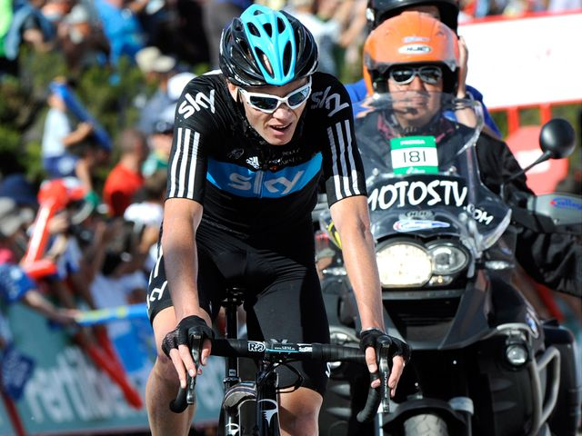 Froome: Battled hard on final climb