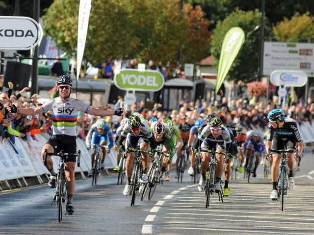 Cavendish: Fine form in Scotland